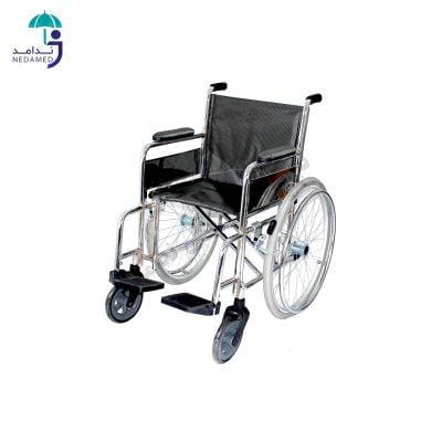 ویلچر ساده تکنو چرخ جلو کالسکه ای