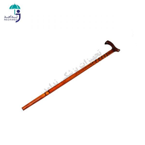 عصا چوبی مرواریدی
